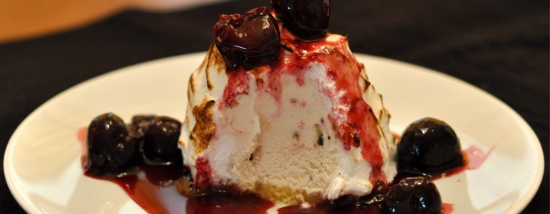 Chef's Recipe: Cranberry Baked Alaska