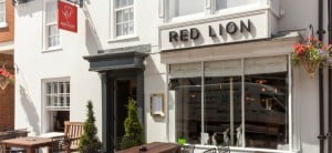 Exterior shot of The Red Lion Odiham