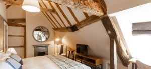 bedrooms at The Red Lion Odiham