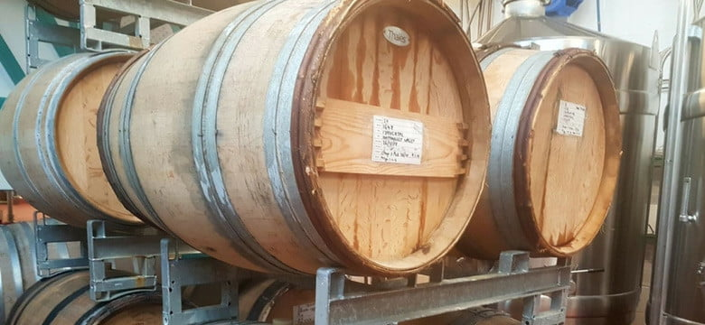 Wine Oak Barrels