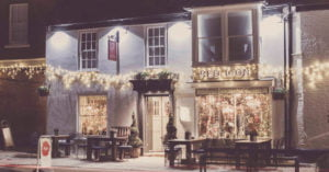 Red Lion at Christmas